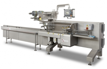 "<p><strong>Automatic Horizontal Flow-Pack Machine. It works with a flat sheet plastic coil to make a ""pillow-pack"" bag with 3 welds - two transverse welds and a longitudinal one. Equipment suitable for the food and technical sector.</strong></p>