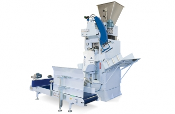 Automatic weighing-bagging machine for valve bags TECNO