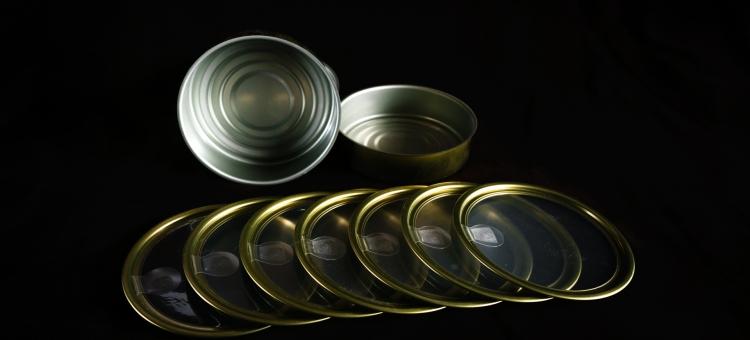 Tampas para latas do tipo CANPEEL