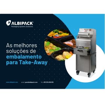 <p>O embalamento de produtos alimentares tem como objetivo evitar contaminações de produtos por microrganismos, garantir um prazo de validade mais longo para que o produto chegue até ao consumidor em cumprimento com todas as regras de segurança e higiene.<br /> <br /> A ALBIPACK disponibiliza as seguintes soluções destinadas ao embalamento de alimentos frescos, refeições prontas para Take-Away, entre outros.</p>