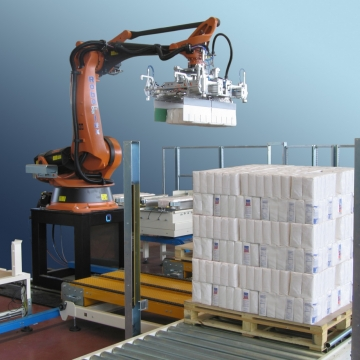 <p>The end of production line is one of the most important processes to ensure proper packaging of the finished product.</p>