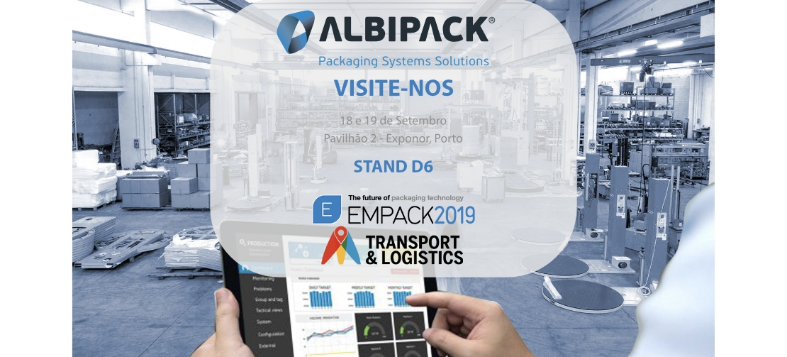 Albipack participa na Feira Empack 2019